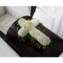 S5-4446 The FTD® Peaceful Memories™ Casket Spray